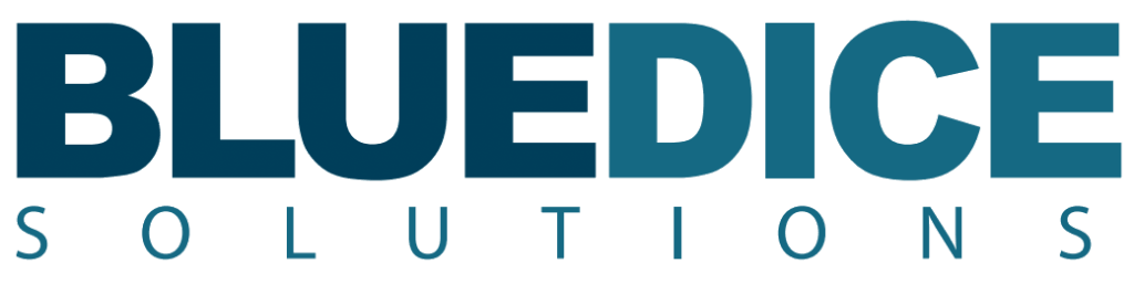 Blue Dice Solutions Logo